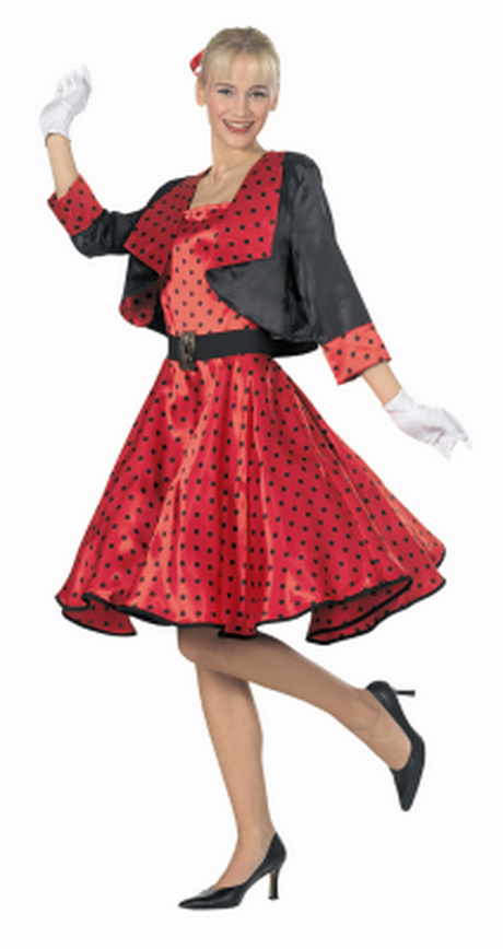De rok zit een petticoat waardoor deze rock roll jurk erg mooi